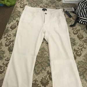 BN NYDJ Whylie trouser, white, 4P
